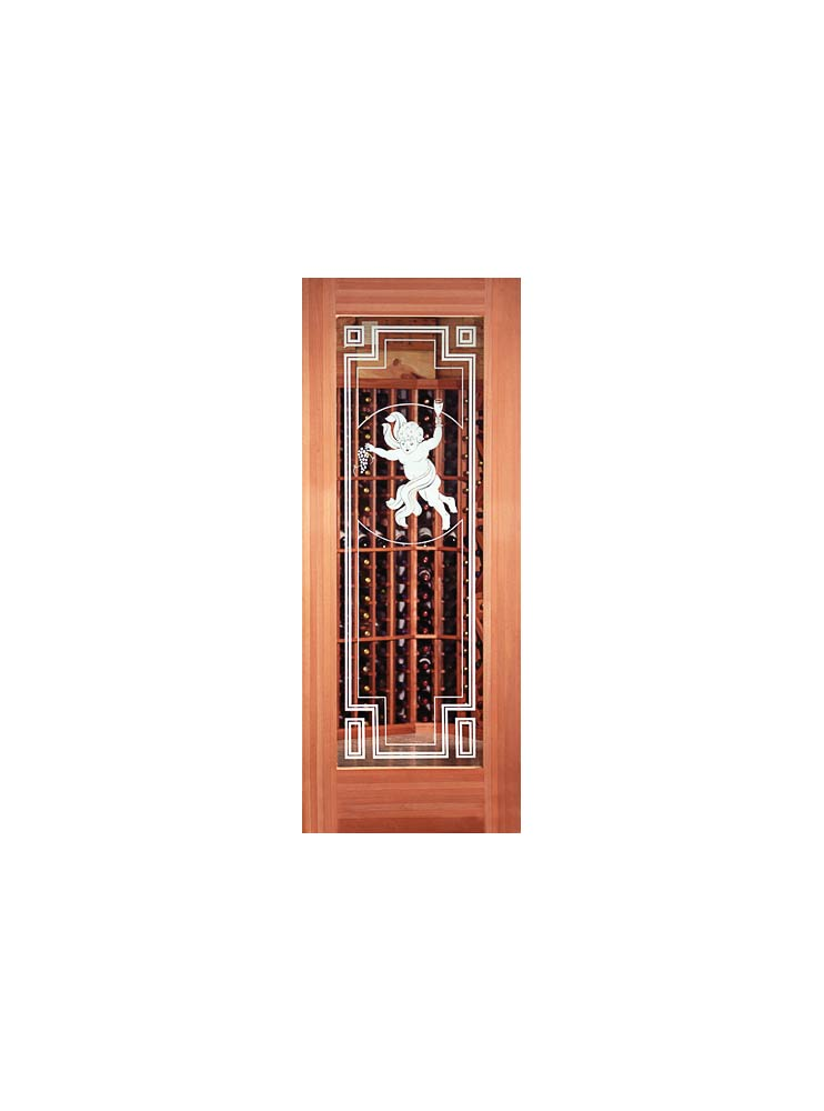 Anjou Etched Glass Door