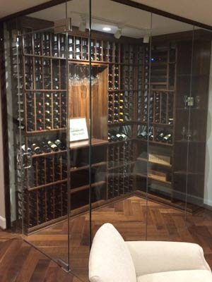 Browse Glass Wine Cellar Entryways