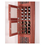 Solid Back Panel for Wine Locker