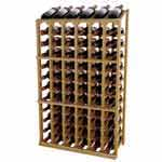 Designer Series Wine Rack -  Half Height Individual with Display