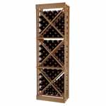 Designer Series Wine Rack -  Open Diamond Cube