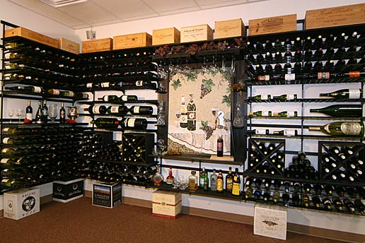 WineZone Wine Shelf System