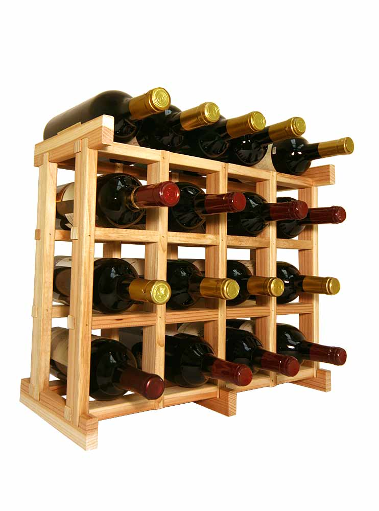 Redwood Wine Bottle Grid