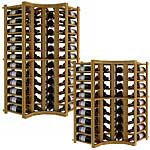 Vintner Series Wine Rack -  Individual Bottle Wine Rack - Curved Corner
