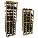 Vintner Series Wine Rack -  Individual Bottle Wine Rack - 3 Columns with Display
