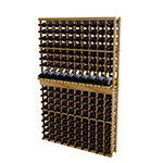 WineMaker 6ft 10 column individual Bottom Stack with Display