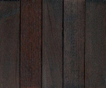 Sapele midnight black stain with lacquer finish