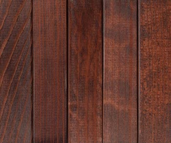 allheart redwood dark walnut stain with lacquer