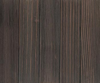 allheart redwood with Weathered Dark Finish