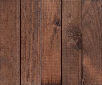 rustic pine dark walnut stain with lacquer