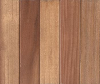 premium redwood light stain with lacquer finish