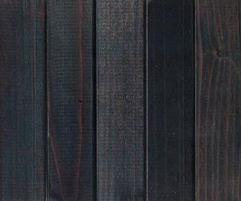 premium redwood midnight black stain with lacquer finish