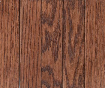 red oak dark walnut stain with lacquer