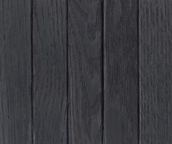 red oak midnight black stain
