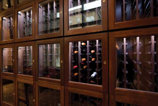 Wine Locker Door