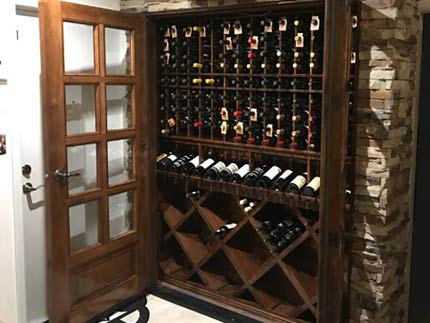 Sentinel Shallow Depth Refrigerated Wine Cabinet