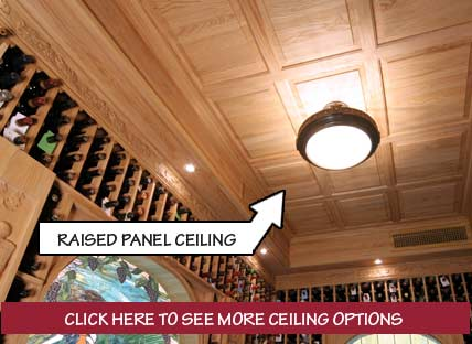Raised Panel Ceiling and Ceiling OPtions