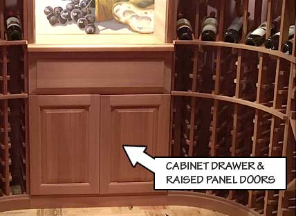 Cabinet Drawer and Raised Panel Doors
