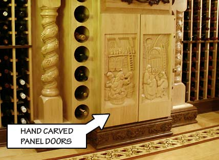 Hand Carved Panel Doors