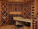 Corner and Curved Wine Racking Style