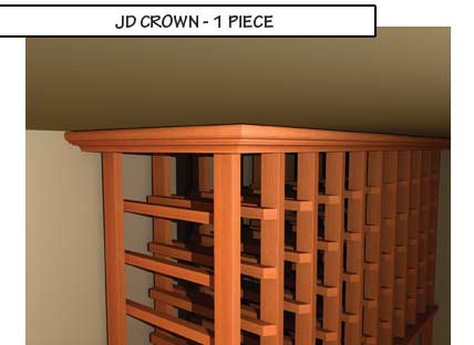 JD Crown One Piece Molding