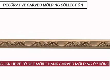Decorative Carved Molding Collection