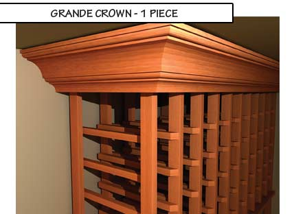 Grande Crown One Piece Molding