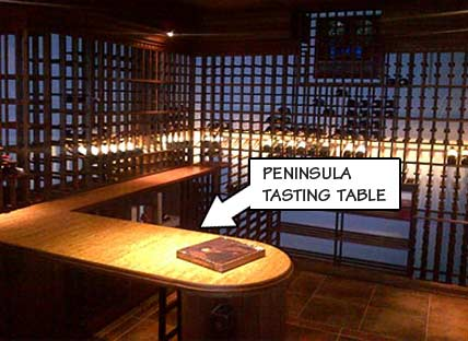 Peninsula Tasting Table