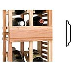Vintner Series Wine Rack -  Center Seam Trim - Straight Package