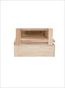 Vintner Series Wine Rack - Base Platform Option for 1 Column Rectangular Bin Wine Rack
