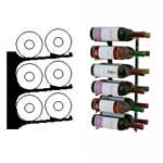 double deep 2ft wall wine rack