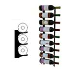 single deep 3ft wall wine rack