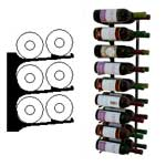 double deep 3ft wall wine rack