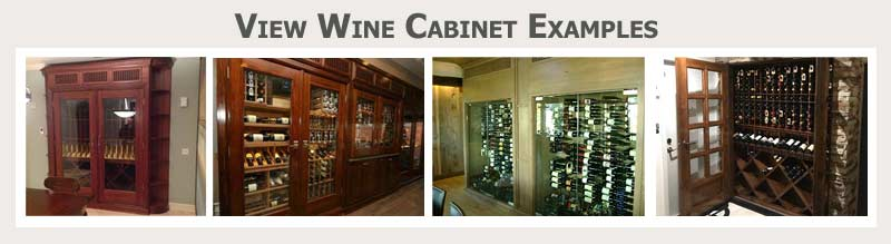 Click here to view custom wine cabinet examples
